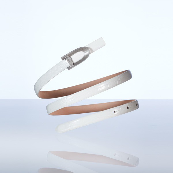 Belt & Buckle (White)