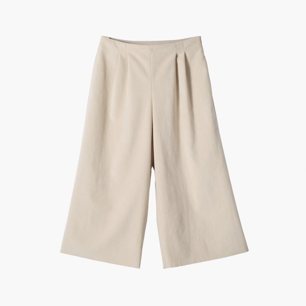DAISY SUEDE PANTS (Vanilla White)