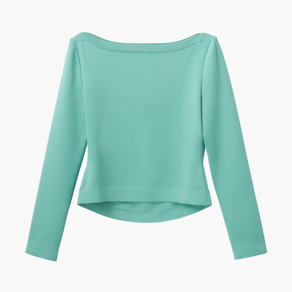 "Knit Top ""Prima Donna"" (Antique Green)"